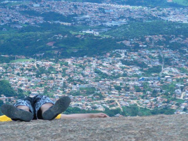 Uma vista espetacular do município de Atibaia.