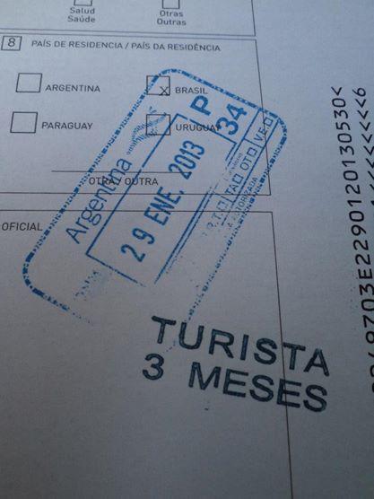 Turista não, viajante.