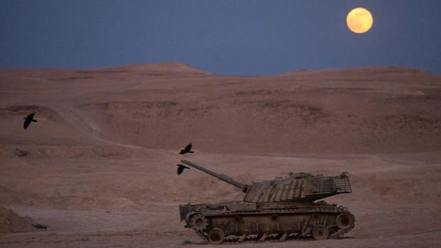 Deserto em Israel - Israel  Foto: EPA