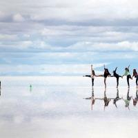 O espetáculo do maior espelho natural do mundo.