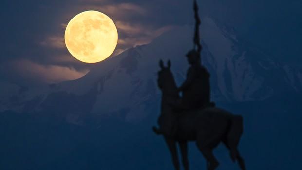 Montanhas no Cazaquistão  Foto: Reuters