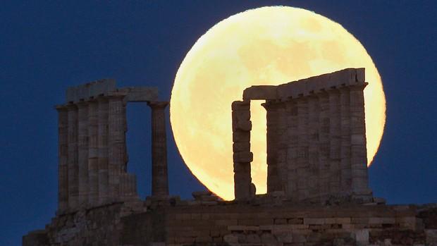 Templo de Poseidon - Grécia  Foto: Reuters
