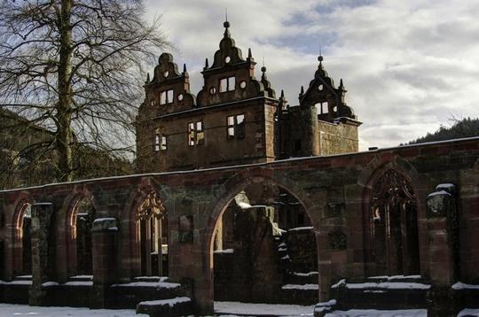 Mosteiro do século 15, Alemanha