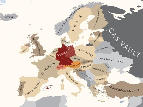 A Europa segundo a Alemanha