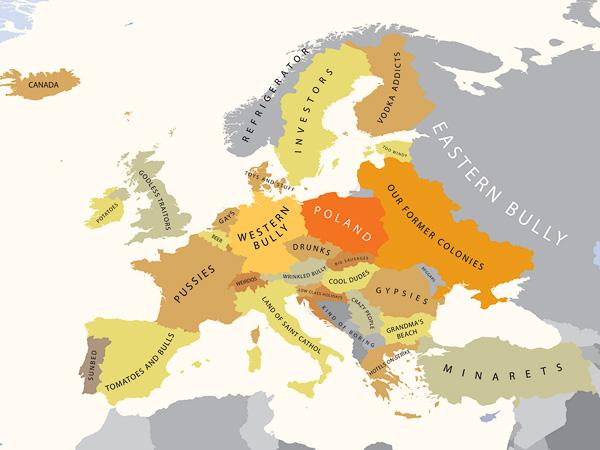 A Europa segundo a Polônia