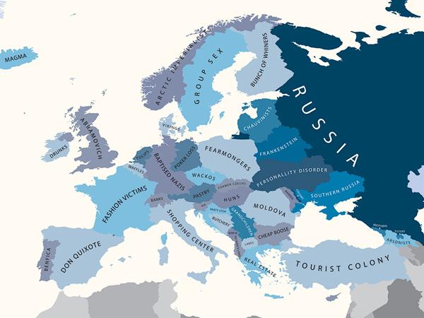 A Europa segundo a Rússia