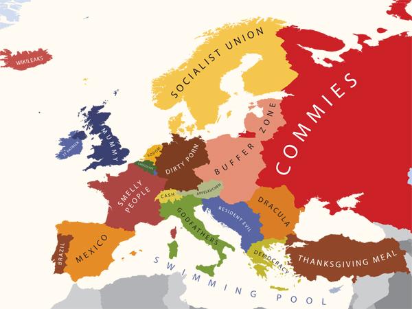 A Europa segundo os EUA