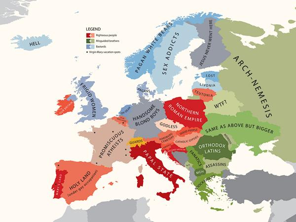 A Europe segundo o Vaticano