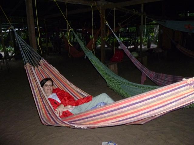 Acampamento em Salto Ángel Foto: Débora Muzzi