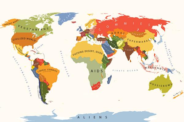 O mundo segundo os EUA