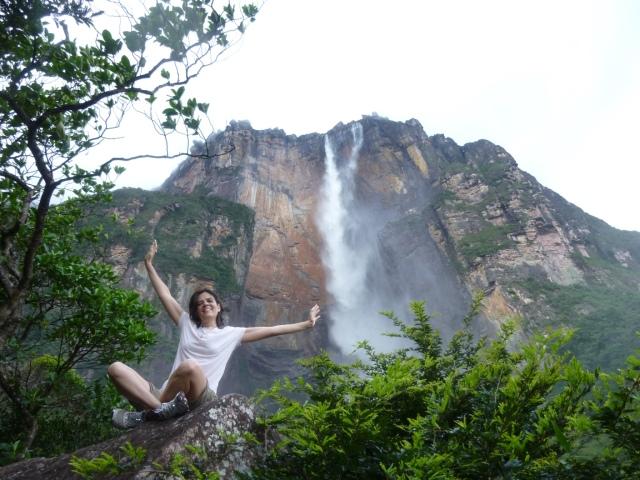 Salto Ángel - Venezuela Foto: Débora Muzzi