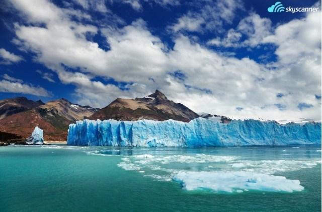 12 - Caminhar sobre o glaciar Perito Moreno na Patagônia.