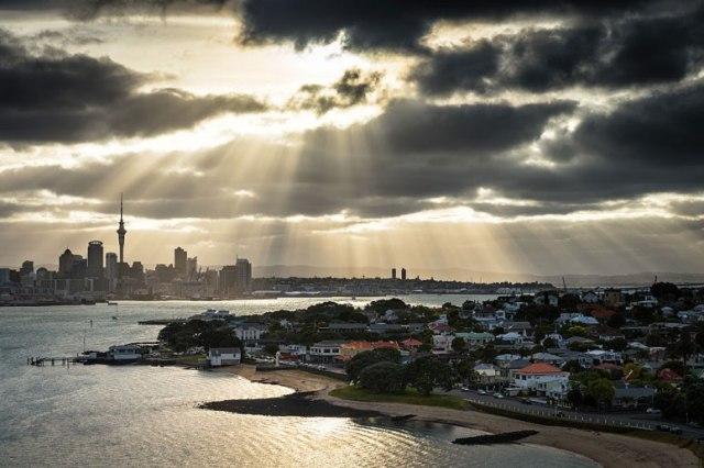 16° lugar: Auckland - Nova Zelândia Nota: 87.8 (empatado)