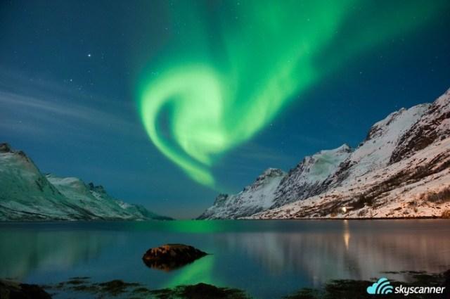 1 - Assistir a Aurora Boreal da Noruega.