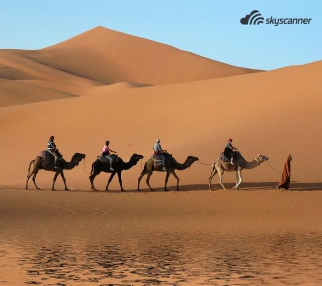 2 - Passar uma noite no deserto do Saara.