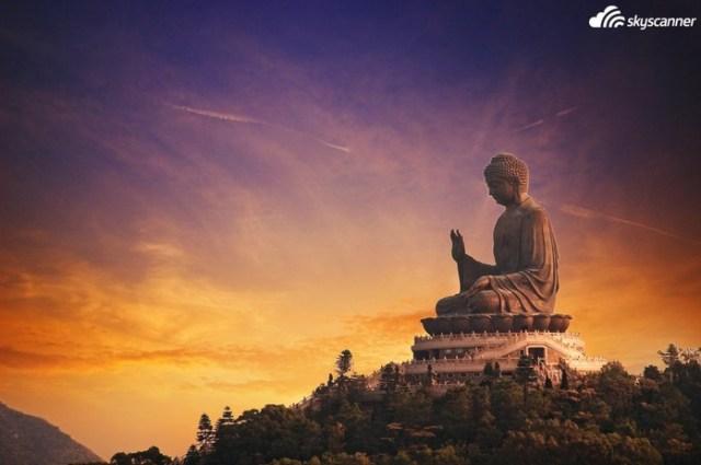 7 - Ver o Big Buddha, Tian Tan em Hong Kong.