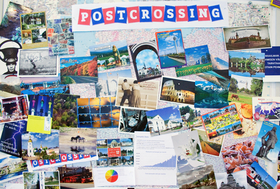 wall-of-postcards