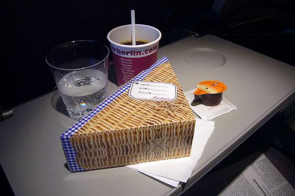 Air Berlin, Classe Econômica, Rota Barcelona - Berlin