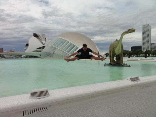 Cidade das Artes e Ciências em Valência, Espanha