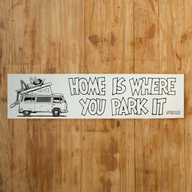 """""""Casa é onde você estaciona."""" Foto: Foster Huntington"""