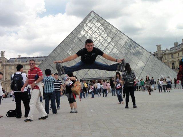 Museu du Louvre em Paris, França