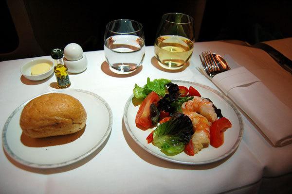 Singapore Airlines, Classe executiva do avião Airbus A380, Rota Sydney - Singapura