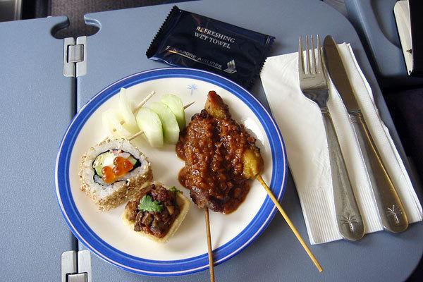 Singapore Airlines, Classe executiva, Rota de Singapura - Nova York