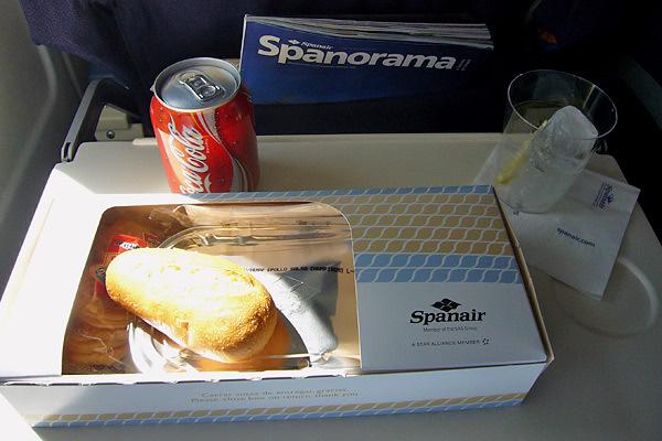 Spainair, Class, Rota Munique - Valência
