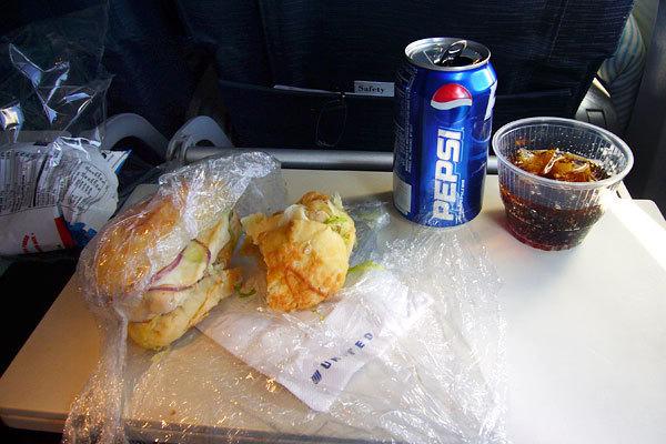 United Airlines, Classe econômica, Rota Oahu, Hawaii - San Francisco