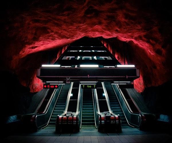 10 - Metro - Stockholm Sweden