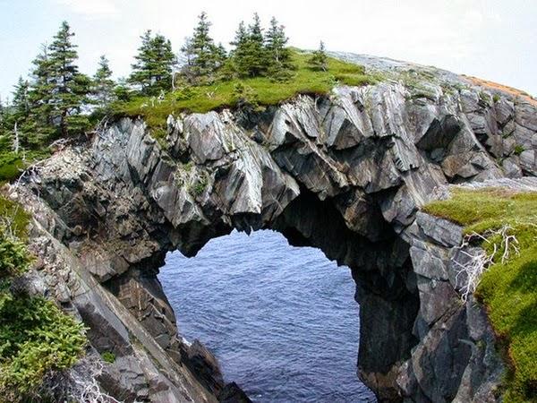 17 - Berry Head Arch - Newfoundland Canada