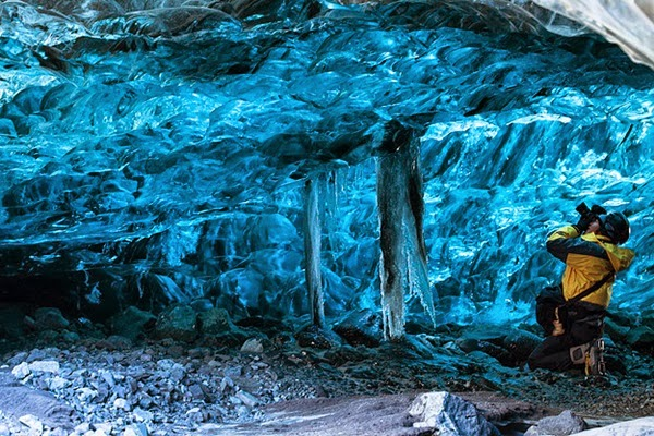22 - Crystal Cave - Skaftafell Iceland