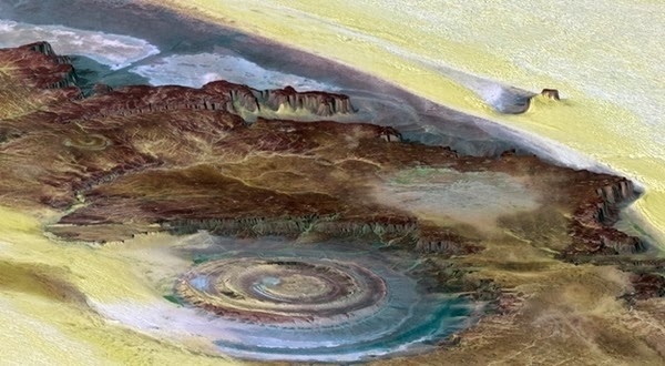 25 - The Richat Structure - Mauritania