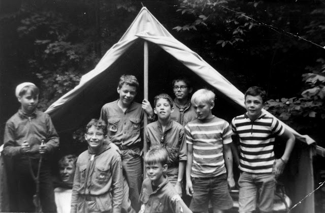 dennis-and-buddies-at-boy-scout-camp
