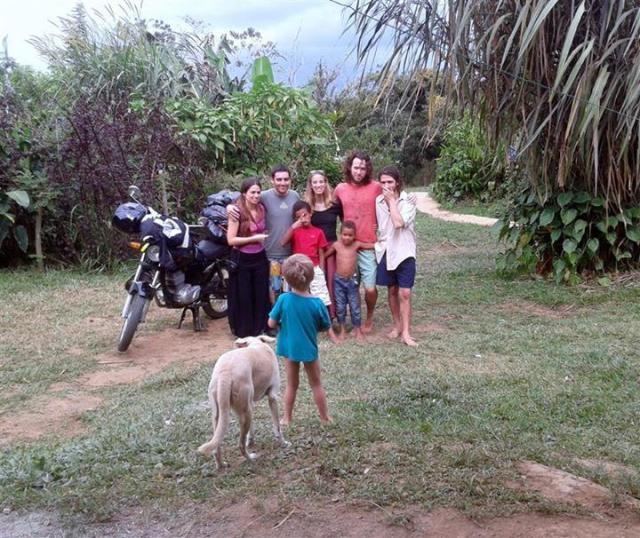 Comunidade Finca Fruiccion  Costa Rica Foto: Thiago Berto