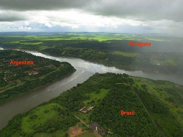 Brasil - Paraguai - Argentina